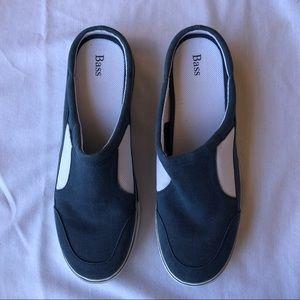 Bass Key Largo Lt Blue Mule Sneaker 11M